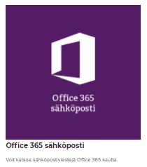 Ofiice 365 sähköposti